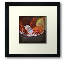In the Summertime Framed Print
