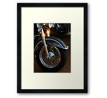 Heritage Softail ~ Part Two Framed Print