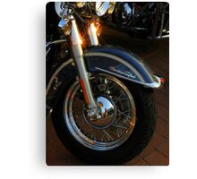 Heritage Softail ~ Part Two Canvas Print