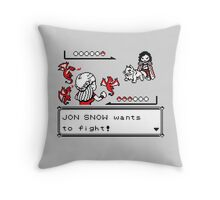 Throne Battle Throw Pillow