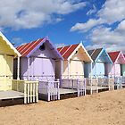 Beach huts by faithimages