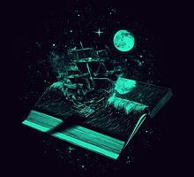 Crossing the Rough Sea of Knowledge by nicebleed