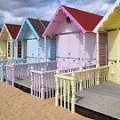 beach huts2 by faithimages