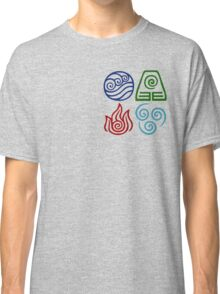 Avatar Four Elements Square Classic T-Shirt