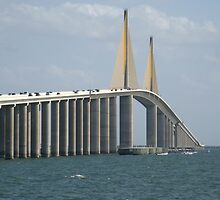 The Skyway Bridge by gigglefactory18