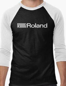 Roland Vintage Funny Geek Nerd Men's Baseball ¾ T-Shirt