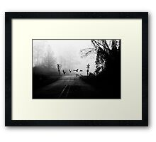They Prey Framed Print