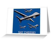 Say Cheese! Funny Geek Nerd Greeting Card
