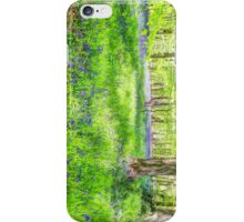 Bluebell Woodlands 1 iPhone Case/Skin