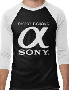 Sony Funny Geek Nerd Men's Baseball ¾ T-Shirt