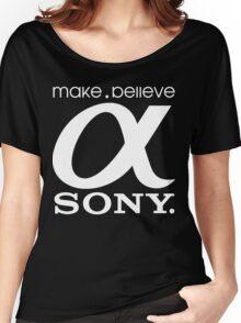 Sony Funny Geek Nerd Women's Relaxed Fit T-Shirt