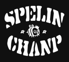 Spelin Chanp Funny Geek Nerd by rahmathusni