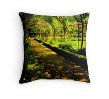 Secluded Avenue Throw Pillow