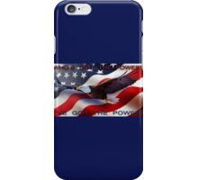 Get the Power iPhone Case/Skin