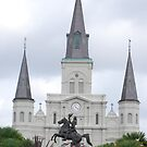 St Louis Cathedral, Jackson Square, New Orleans, Louisiana by Marlo510