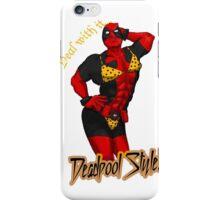 Deadpool style iPhone Case/Skin