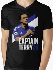 Captain Terry Mens V-Neck T-Shirt