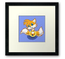 Tails Ring Framed Print