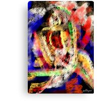 FEATHERED NUDE Canvas Print