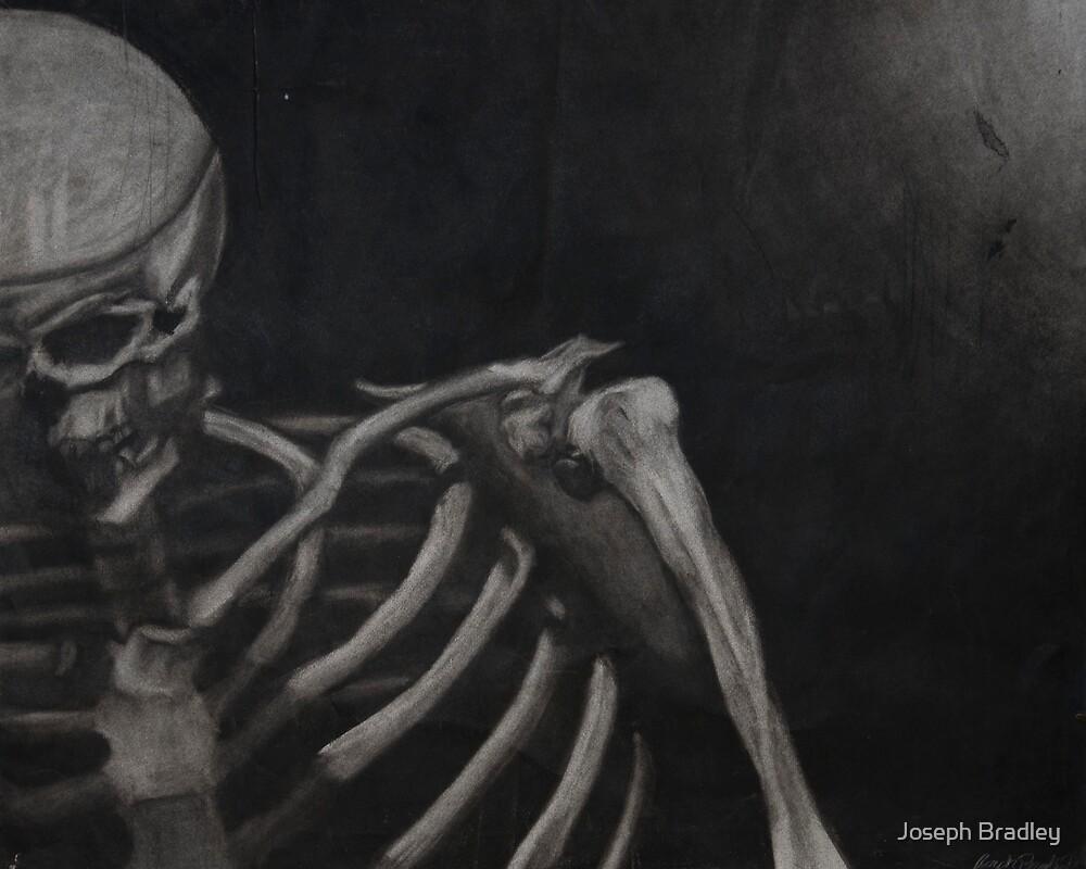 Skeleton in Strong Light by Joseph Bradley