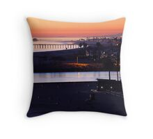 Newport Twilight Throw Pillow