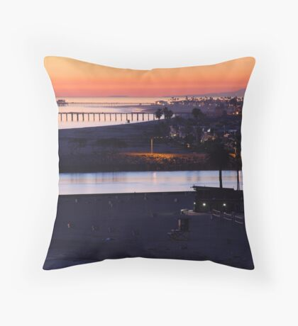 Newport Twilight Throw Pillow