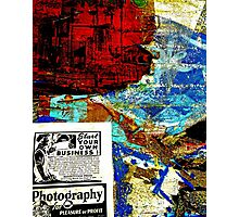 Papers On Hollywood Wall Photographic Print