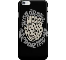 Hodor Text iPhone Case/Skin