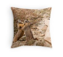 Chompers Throw Pillow