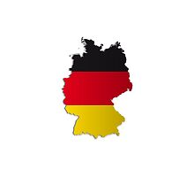Map of Germany 2 by gruml