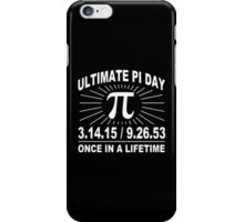 Ultimate pi day 2015 Funny Geek Nerd iPhone Case/Skin