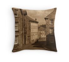 Bygone Times Throw Pillow
