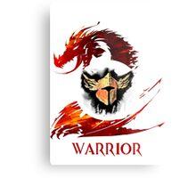 Guild Wars 2 Warrior  Metal Print