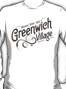 Geenwich Village - 1963 T-Shirt