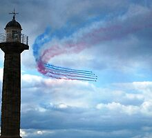 Red Arrows - Whitby by Tinyevilpixie1