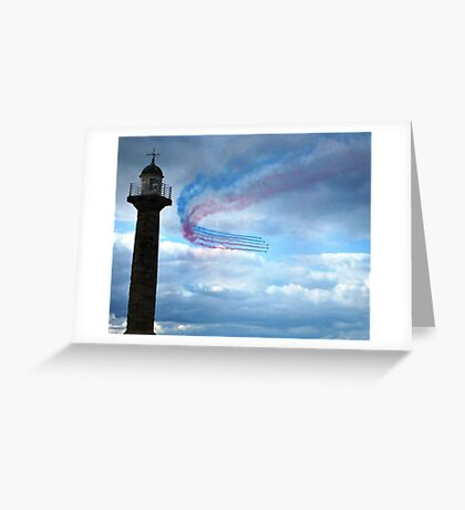 Red Arrows - Whitby Greeting Card