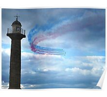 Red Arrows - Whitby Poster