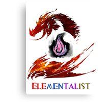 Guild Wars 2 Elementalist Canvas Print