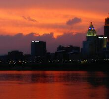 Cincinnati Sunset by deadbetty