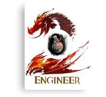 Guild Wars 2 Engineer Metal Print