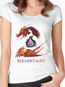 Guild Wars 2 Elementalist Women's Fitted Scoop T-Shirt