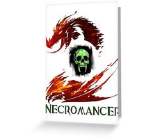 Guild Wars 2 Necromancer Greeting Card