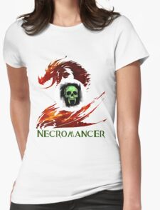 Guild Wars 2 Necromancer Womens Fitted T-Shirt
