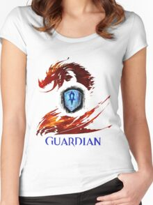 Guild Wars 2 Guardian Women's Fitted Scoop T-Shirt