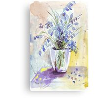 The Bluebell is the sweetest flower Canvas Print