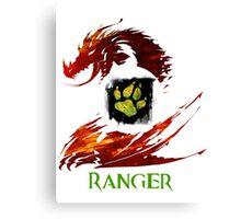 Guild Wars 2 Ranger Canvas Print