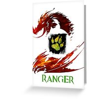 Guild Wars 2 Ranger Greeting Card