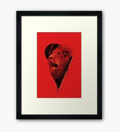 Hunger Strike Framed Print