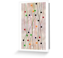 MUCH MORE LINES Greeting Card