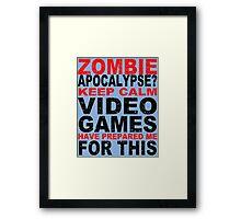 Canvasu Funny Geek Nerd Framed Print